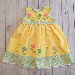 Pretty Yellow Sundress - 2T